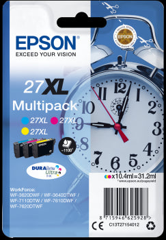 Epson Original T27 XL Series - 3 Colour Pack