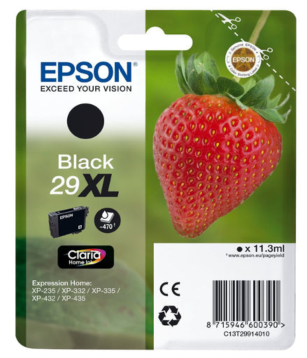 Epson Original Black T29 XL Claria Premium Ink Cartridge