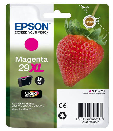 Epson Original Magenta T29 XL Claria Premium Ink Cartridge