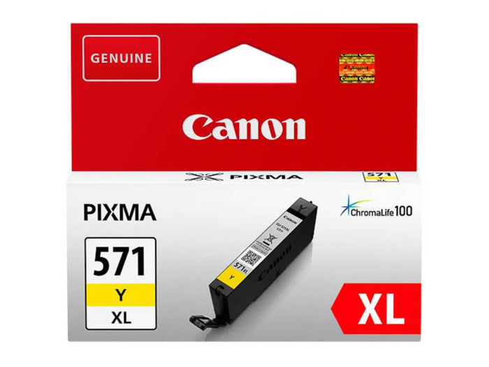 Canon CLI-571 XL Printer Ink Cartridge Yellow