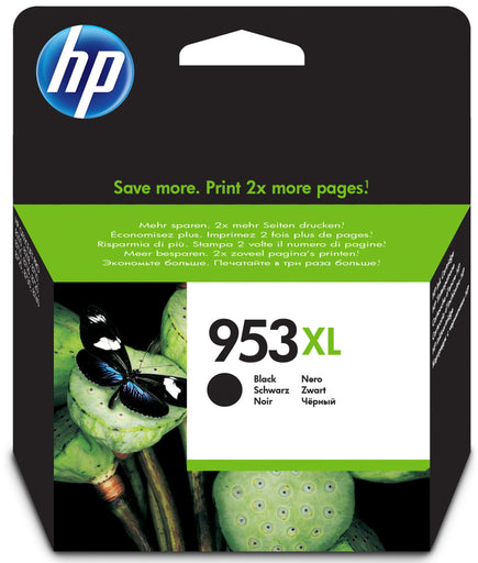 HP 953XL High Yield Black Original Ink Cartridge Page Yield 2000 (L0S70AE)