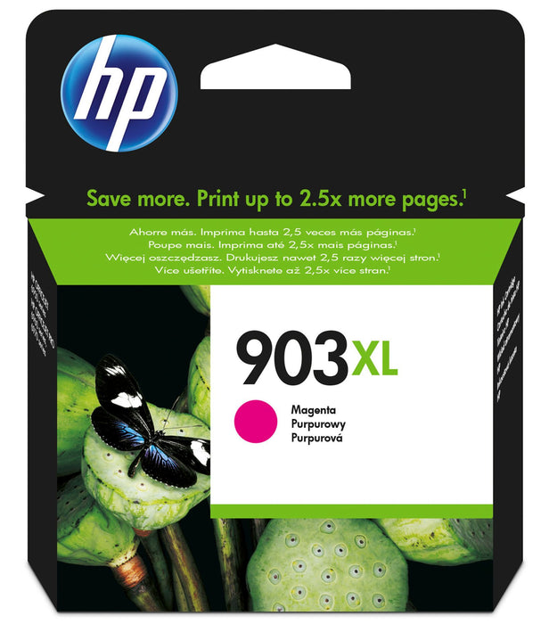HP 903XL Original High Yield Magenta Ink Cartridge Page Yield 825 (T6M07AE)