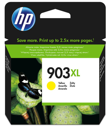 HP 903XL Original High Yield Yellow Ink Cartridge Page Yield 825 (T6M11AE)
