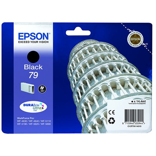 Epson Original T79 Black Durabrite Ultra Ink Cartridge