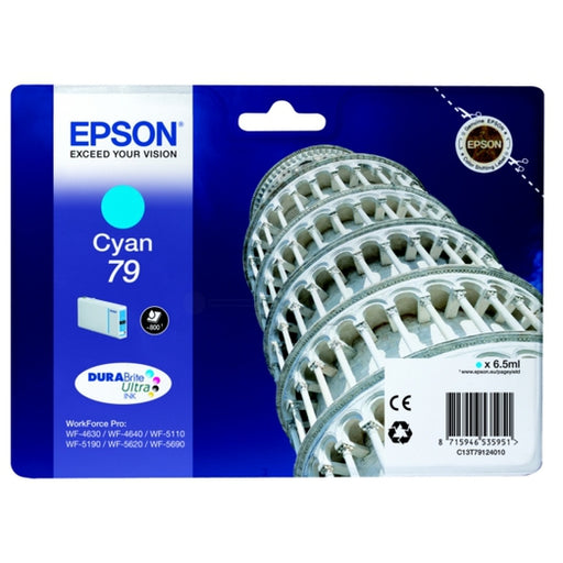 Epson Original T79 Cyan Durabrite Ultra Ink Cartridge
