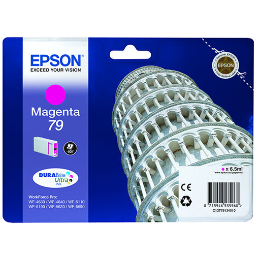 Epson Original T79 Magenta Durabrite Ultra Ink Cartridge