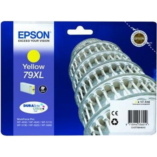 Epson Original T79 XL Yellow Durabrite Ultra Ink Cartridge