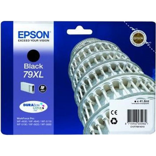 Epson Original T79 XL Black Durabrite Ultra Ink Cartridge