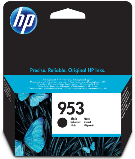HP 953 Standard Yield Original Black Ink Cartridge Page Yield 1000 (L0S58AE)
