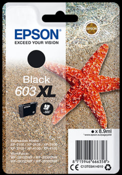 Epson Original T03A14 Black 603XL Ink Cartridge