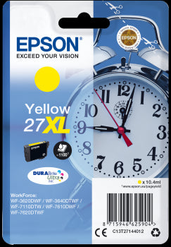 Epson Original T27XL Yellow Durabrite Ultra Ink