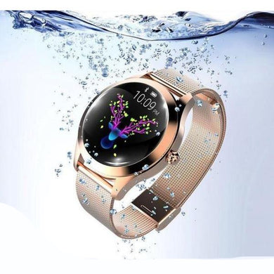 Montre Connectée Tactile Femmes Waterproof Bluetooth Android IOS Sport