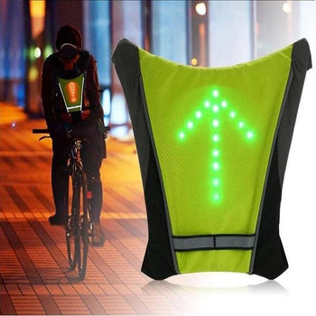 Gilet de Cyclisme à LED - USB