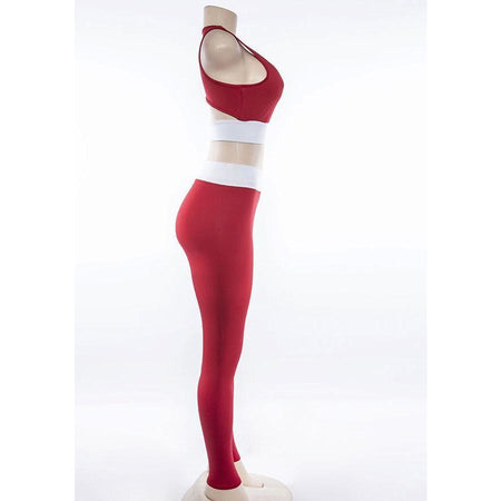 Ensemble Legging Sport Femme - Red Lady Club