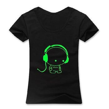 T-Shirt Comic Fluorescent Bande Dessinée 100% coton