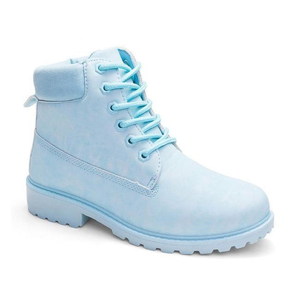 117ceec7020f Boots Chaussures Montantes Style Timberland Femme - Ankle Boots