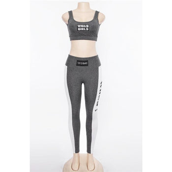 Ensemble Sport Fitness Femme - Cropped Tank