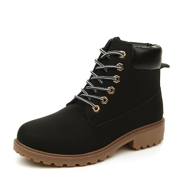 Boots Chaussures Montantes Style Timberland Femme