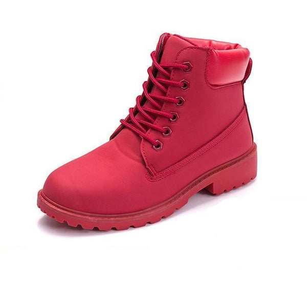 11d33113cd7f Boots Chaussures Montantes Style Timberland Femme