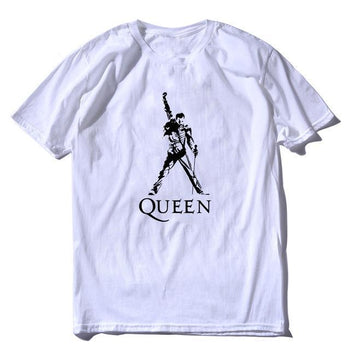 T-Shirt Freddie Mercury Queen Légende 100% coton