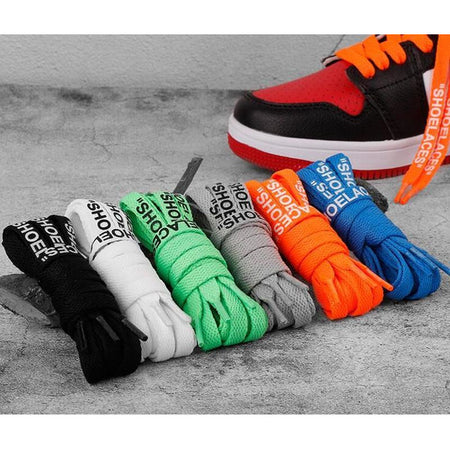 Lacets Nike Off White +  Zip Rouge Design - Shoelaces