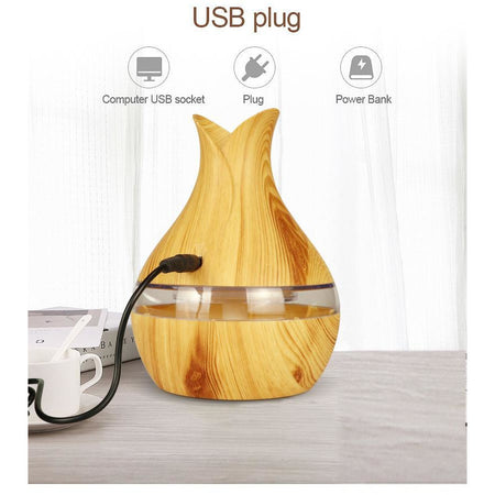 Diffuseurs d'Huiles Essentielles & Purificateurs d'air - Wood Grain