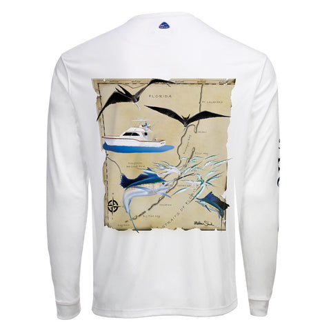 Men's OTP UV Shirt: South Florida Sailfish
