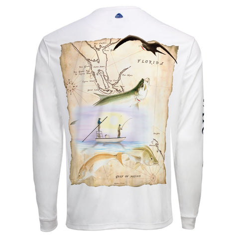 Men's OTP UV Shirt: SW Florida Backcountry