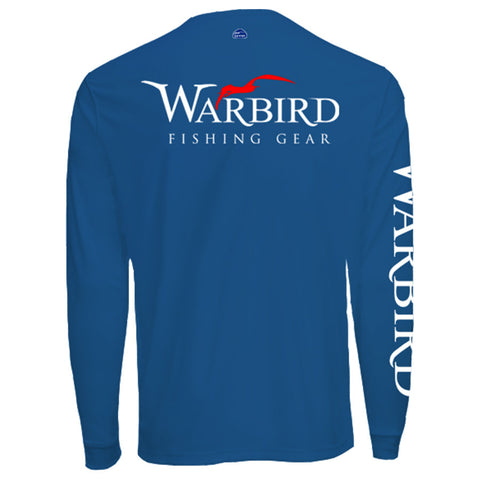 Men's OTP UV Shirt: Royal Blue Warbird