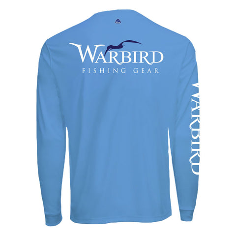 Men's OTP UV Shirt: Ocean Blue Warbird