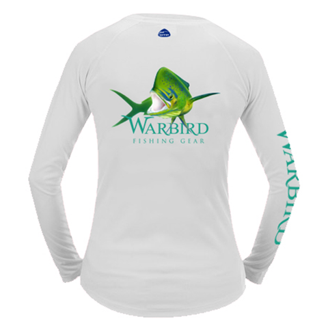Ladies OTP UV Shirt: Islamorada Slammer - White