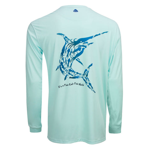 Men's OTP UV Shirt: Wild Oceans