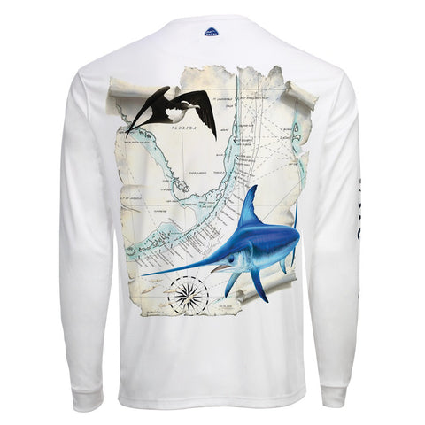 Men's OTP UV Shirt: Florida Keys Swordfish
