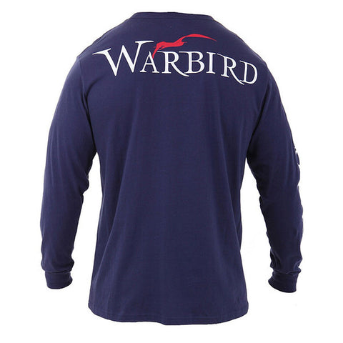 Men's Basic Long Sleeve Crew - Navy