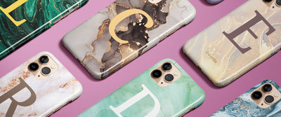 How to get a Personalised Marble Phone Case