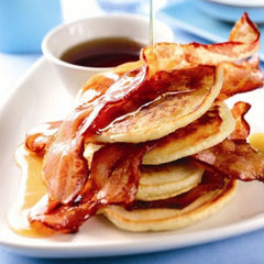 Bacon and Maple Syrup Pancakes