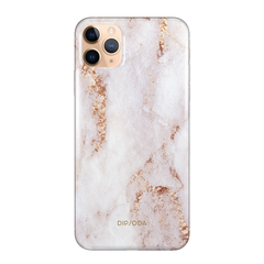 DIPSODA Rose Gold Marble Snap / Impact iPhone 12 Pro Max Phone Case