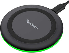 Yootech Wireless Charger, 10W Max Fast Wireless Charging Pad