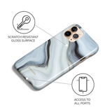 Marble Tide Phone Case