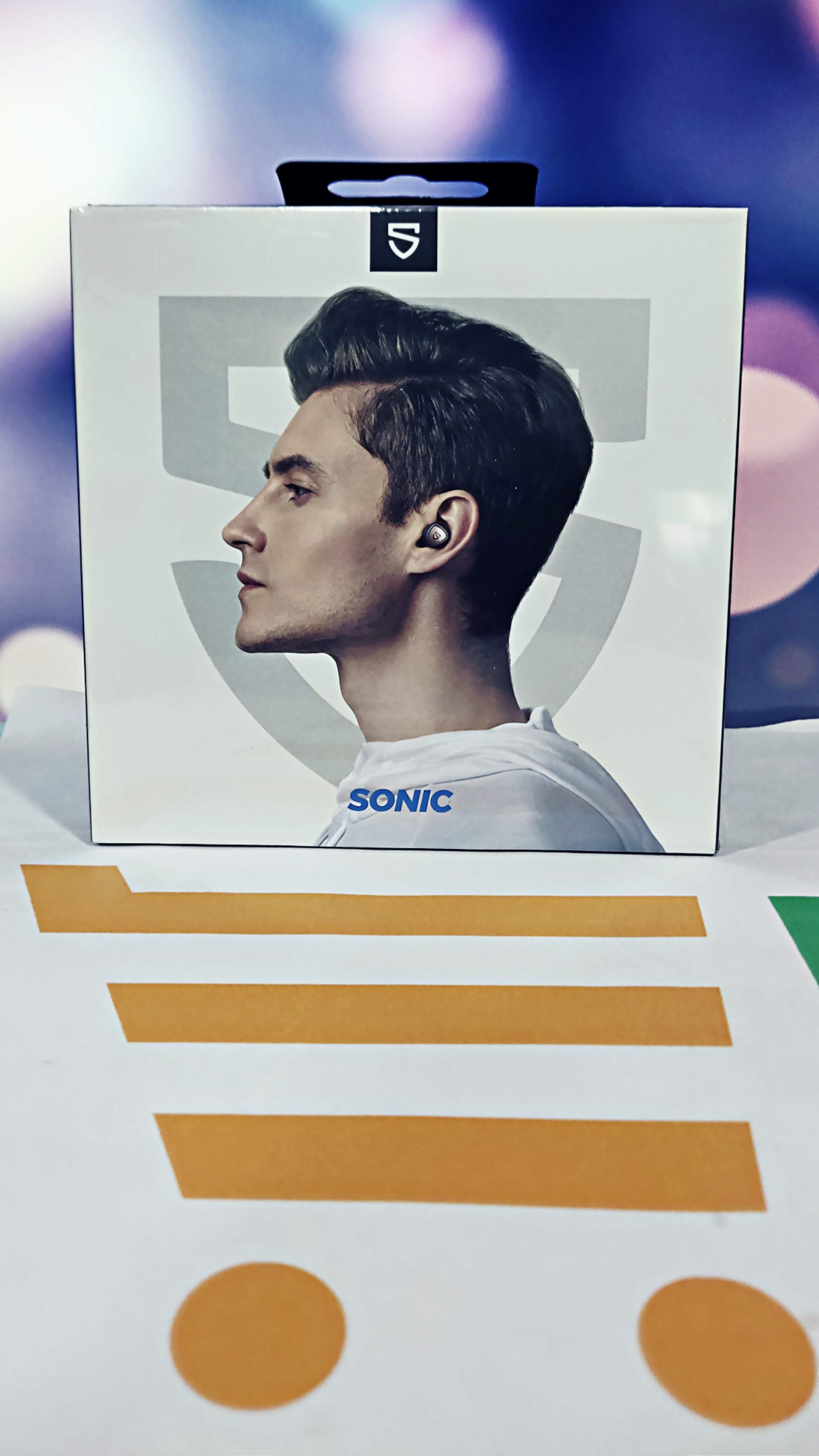 Soundpeats sonic bluetooth 5.2 wireless earphones qcc3040 chipset aptx-adaptive cvc 8.0 noise reduction earbuds 45h play time (gray)