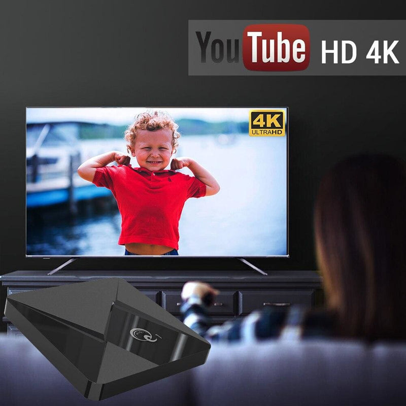 A95X Q1 MINI Smart TV BOX Android 9.0 Youtube 2GB 16GB Rockchip RK3328 Quad Core 2.4GHz WIFI 4K Google Play Android TV Box