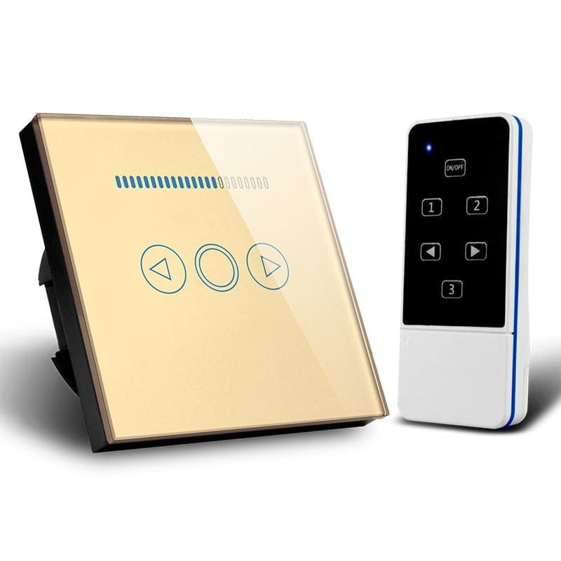 Aseer ,Smart Home EU Dimmer Switch Wireless Remote Control Light Dimmer Switch 500W,110-240V RF Switch 220V