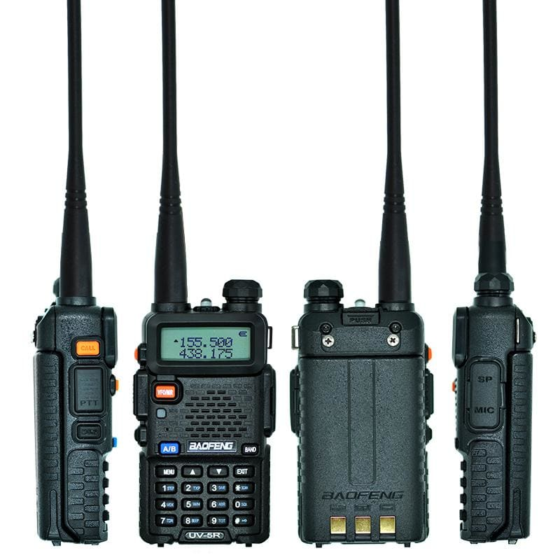 Baofeng uv-5r walkie talkie professional cb radio station baofeng uv5r transceiver 5w vhf uhf portable uv 5r hunting ham radio - on sale
