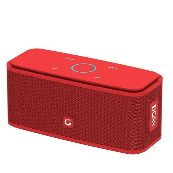 Doss soundbox touch control bluetooth speaker 2*6w portable wireless speakers stereo sound box with bass and built-in mic - on sale