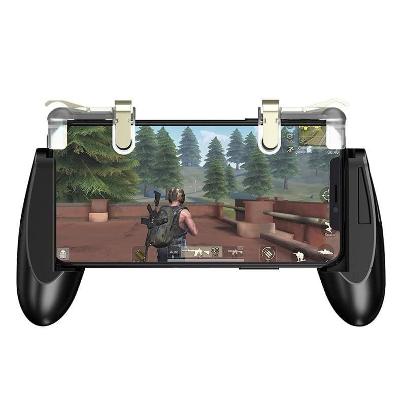 GameSir F2 Gamepad Firestick Grip for Android iOS Phone Game Mount Bracket Controller/ Mobile Trigger Fire Button Aim Key