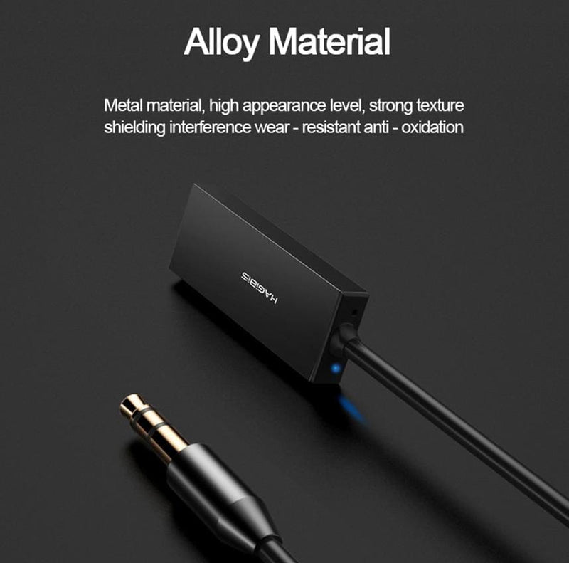 Hagibis Bluetooth Receiver Bluetooth 5.0 Adapter AUX Audio 3.5mm Jack Stereo Wireless Transmitter  For Car Speaker Headphone