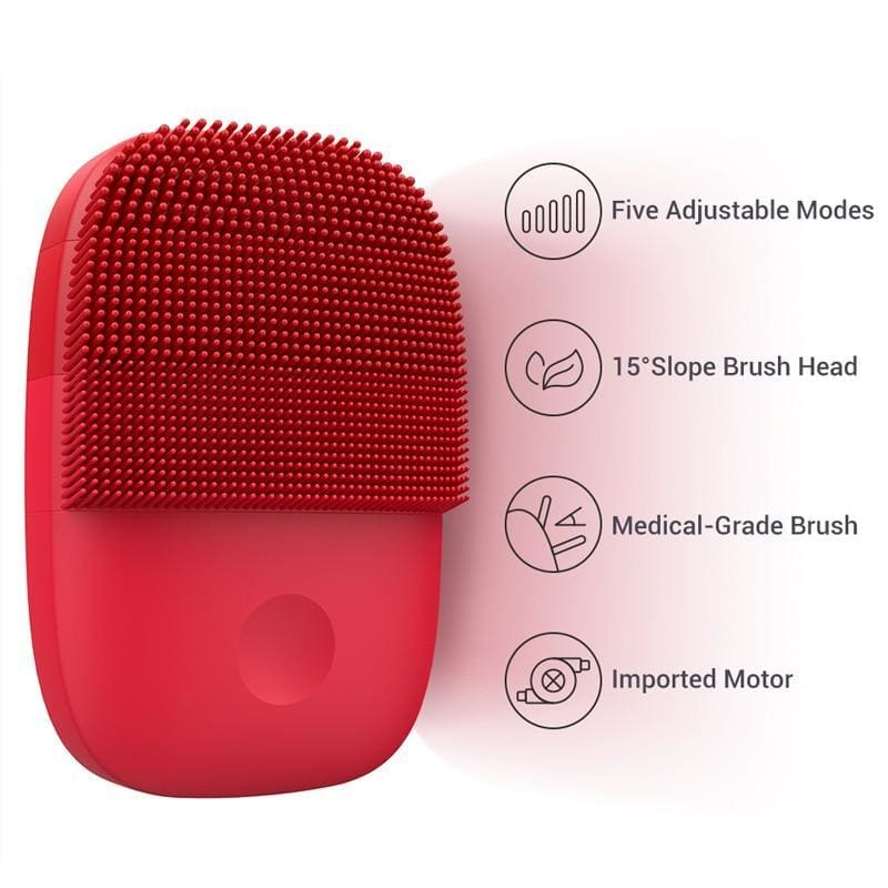 Inface upgrade version facial cleansing brush electric sonic face brush deep cleaning waterproof tool - on sale