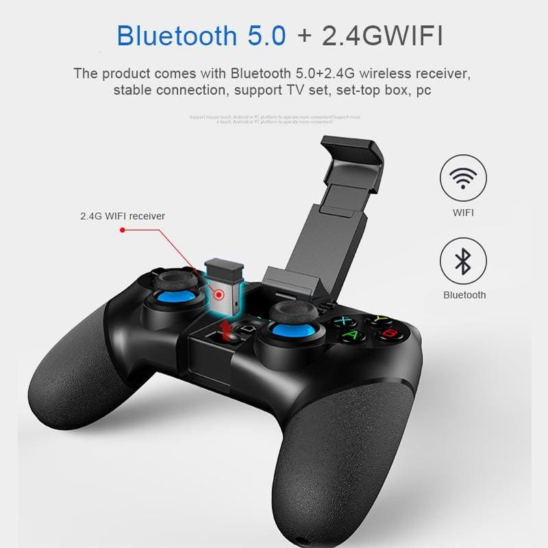 ipega PG9076 3 in 1 Wireless Gamepad Bluetooth Game Joystick for Smartphone