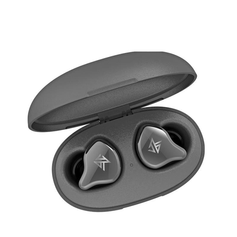 Kz s1 s1d tws true wireless bluetooth 5.0 earphones dynamic/hybrid earbuds touch control noise cancelling sport headset - on sale
