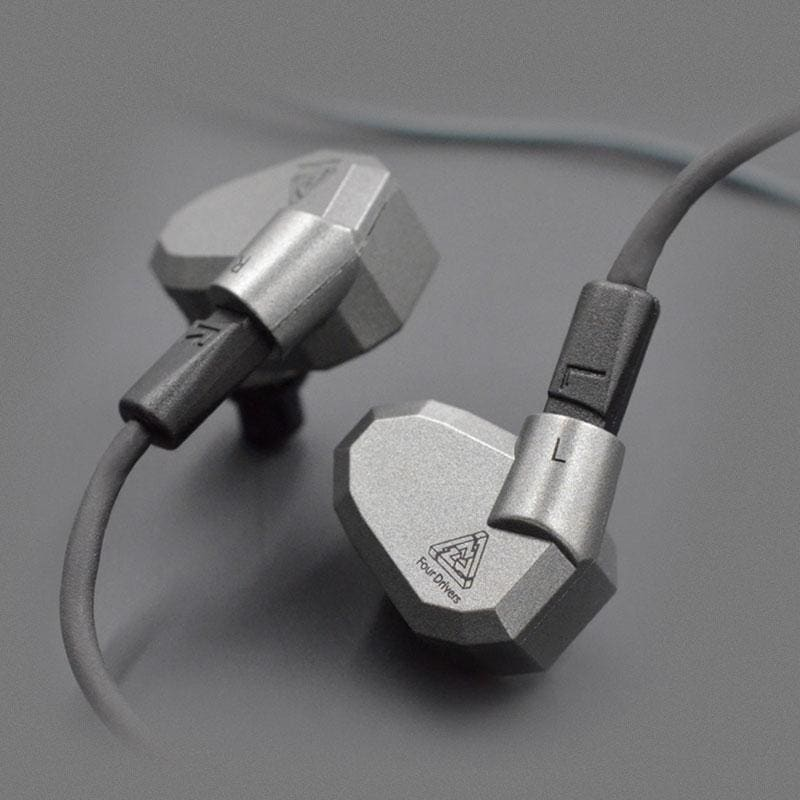 KZ ZS5 Hybrid Earphones 2DD+2BA Dynamic Balanced Armature Sport Earphones Noise Isolating In Ear Headset HiFi Music Earbuds